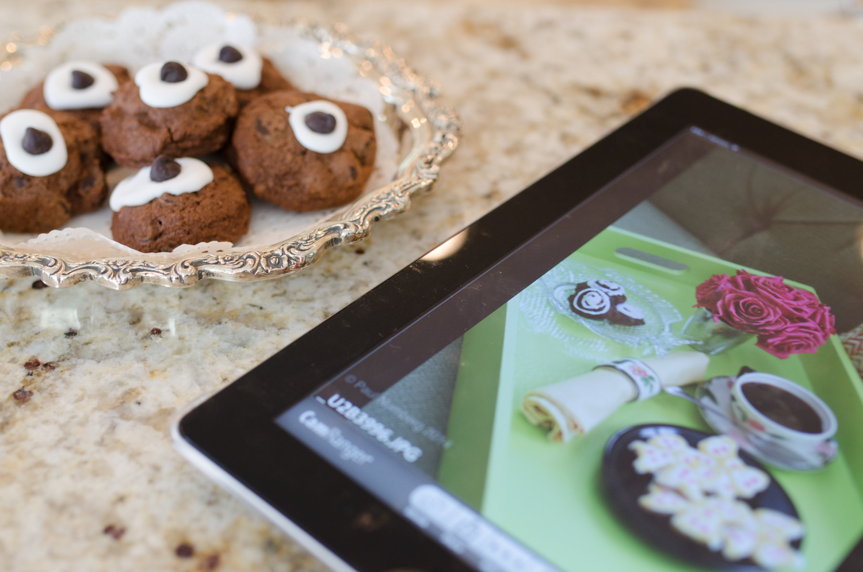 Cookbook photography Cookie cookbook