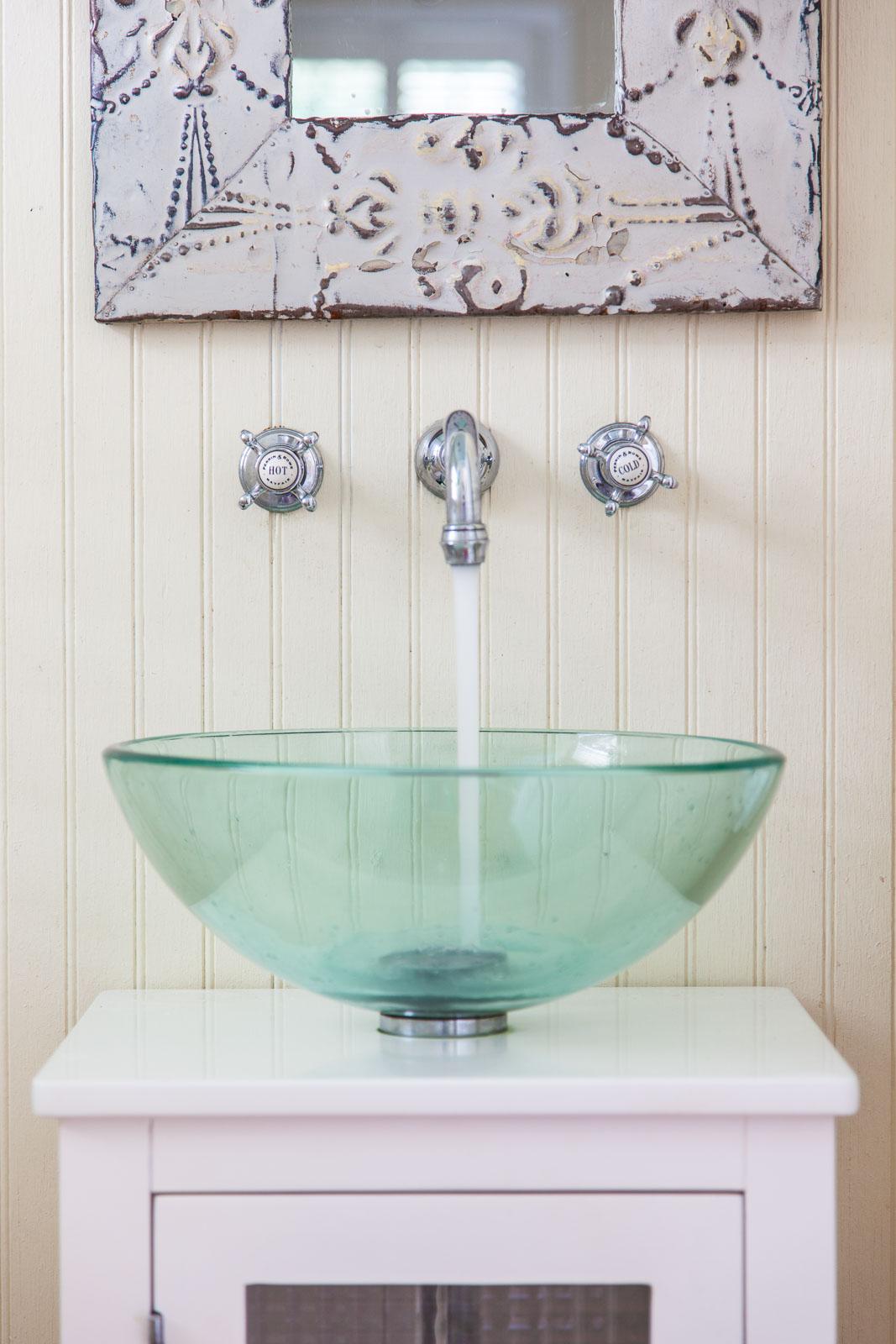 Savannah bathroom architectural photography detail