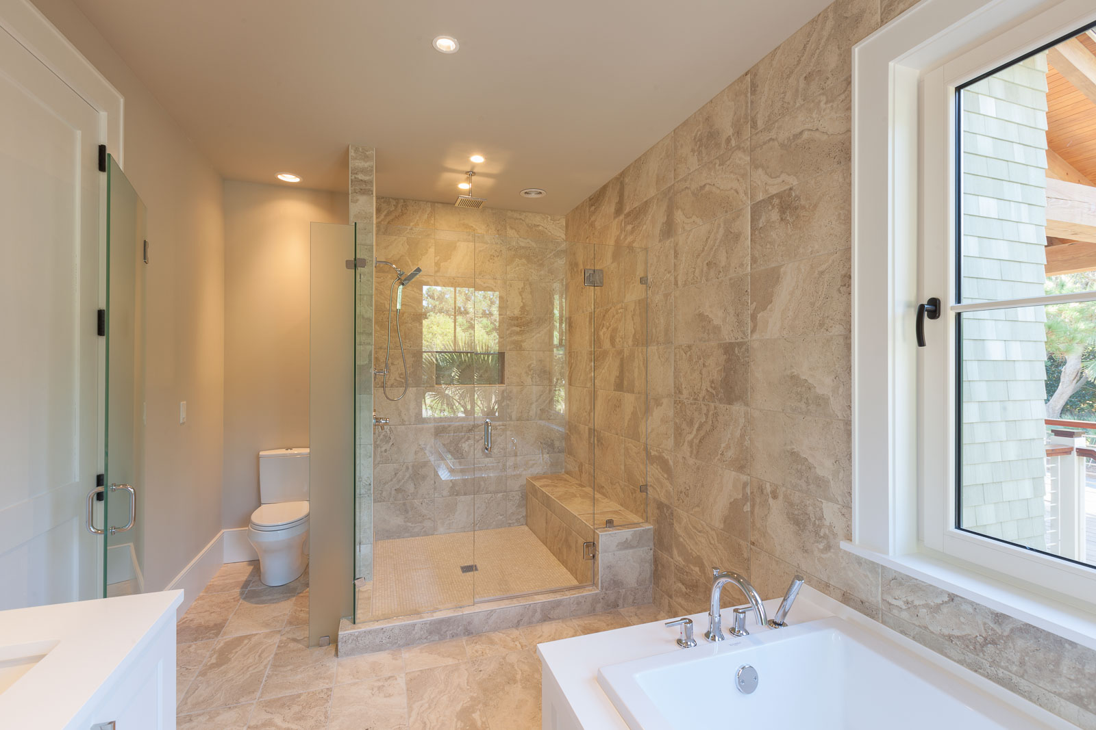 Bluffton bathroom architectural photography